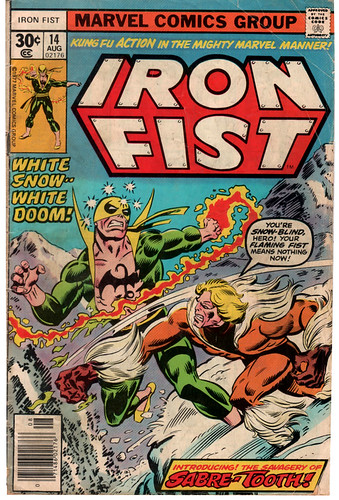 Iron Fist Marvel comic