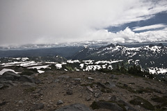 Mt_Rainier_6139 (absencesix) Tags: travel sky snow mountains nature weather clouds washington nationalpark unitedstates iso400 july noflash mountrainiernationalpark northamerica 1020mm 2008 locations locale 13mm canoneos30d geocity camera:make=canon exif:make=canon exif:iso_speed=400 apertureprioritymode topano july262008 naturallocale summer2008travel panoramasections selfrating0stars exif:focal_length=13mm 11000secatf11 geostate geocountrys exif:lens=100200mm exif:model=canoneos30d camera:model=canoneos30d exif:aperture=11 subjectdistanceunknown mountrainierwa07262008