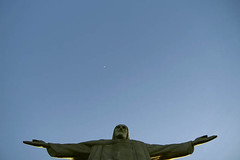 Thank you! (Malu Green!) Tags: blue brazil sky green statue azul brasil riodejaneiro cu cristoredentor malu malugreen cristo estatua redentor maravilhadomundo