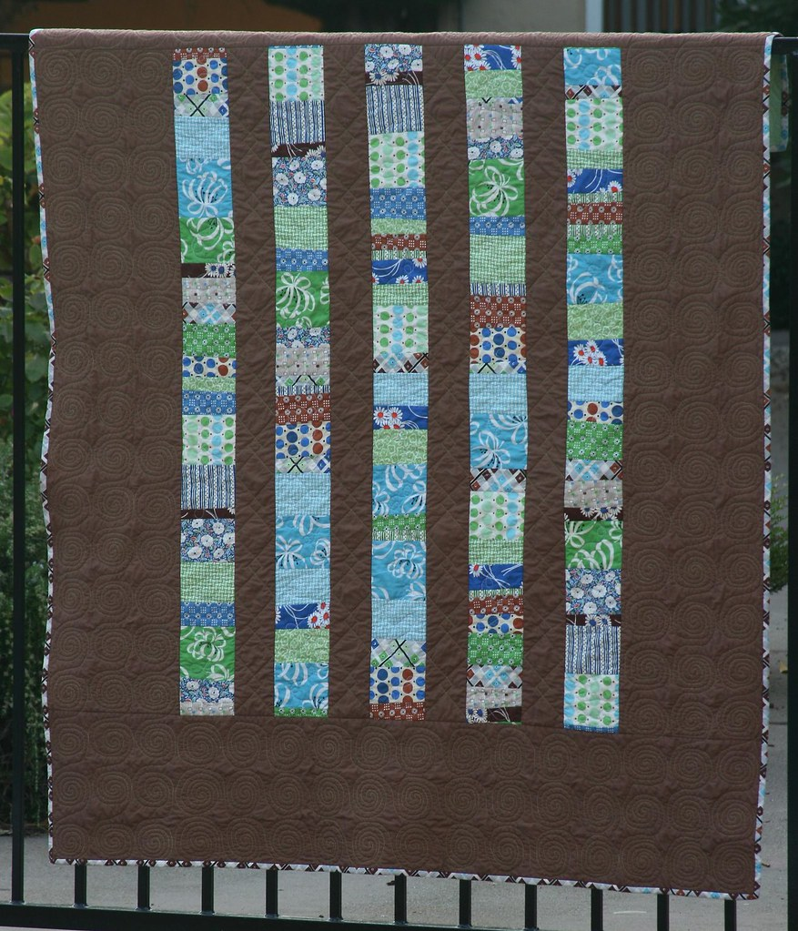 Quilt #4 -- Stacked Coins, front