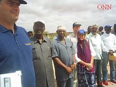 Opening ceremony of the Bridge (Camelboyz) Tags: somaliland oodwayne odweine