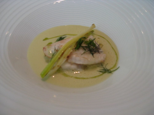El Celler de Can Roca: Sole with Sea Fennel and Leeks
