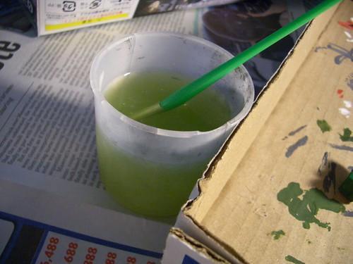 mmm, green tea?