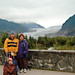 Asleep at the Mendenhall Glacier