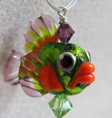 Fish Prince..$250.00, Gift Boxed and One of a Kind plus Free Shipping