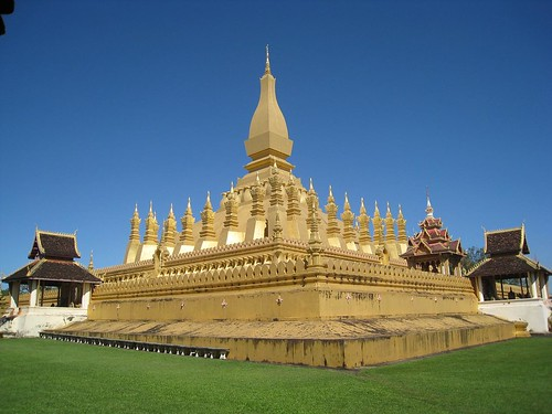 Pha That Luang - Lao's most important Wat