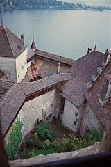 View from the Top (moacirdsp) Tags: de schweiz switzerland suisse 1987 chillon château middleages vevey montreux vaud veytaux