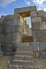 The Sun Gate (Knight_of_W.) Tags: trip travel vacation holiday americalatina nature inca cuzco architecture geotagged foto photos wildlife natura per monuments archeology viaggi monumenti architettura archeologia canonefs1755mmf28isusm nationalgeographicbyitalianpeople canon40d imagesofharmony archietteura