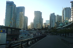 On the way to work (timbarton) Tags: canada vancouver seawall coalharbour