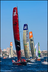 VOR 08/09 - Alicante (Alex Stoen) Tags: canon eos spain sailing wind alicante vor greendragon regata volvooceanrace canon70200f28l ilmostro canonef70200mmf28lisusm inportrace 40d volvoopen70 ericsson3 pumaoceanracing ericsson4 telefonicablack telefnicanegro alexstoenphotography