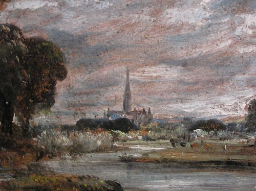 Study of Salisbury Cathedral