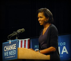 I heart Michelle Obama (cursedthing) Tags: election obama firstlady rochestermn michelleobama pfogold changeweneed