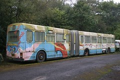 Ill-fated bendi-bus (SemmyTrailer) Tags: bus devon articulated dab leyland winkleigh