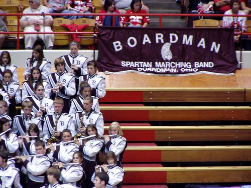 Boardman Spartans Marching band