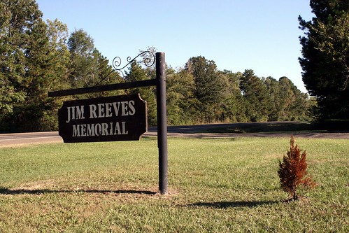 jim reeves memorial sign