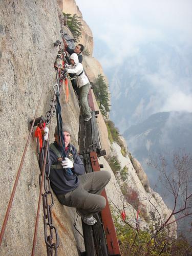 Hua Shan Plank Walk 20