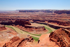 Dead Horse Point (lowcountryboil) Tags: river utah deadhorsepoint coloradoriver moab redrock