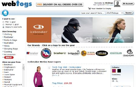 Webtogs homepage