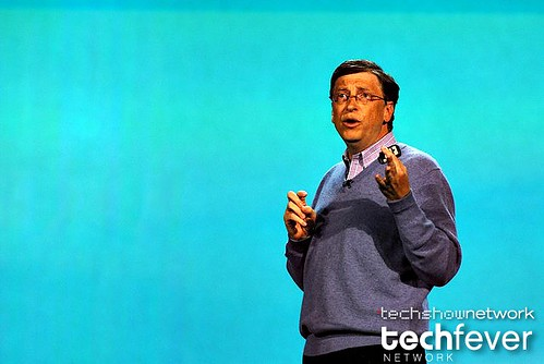 Microsoft founder Bill Gates apple