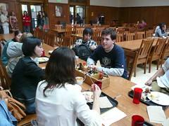 第4回鹿児島大学シリコンバレー研修ツアー  St. Mary's College での学食にて