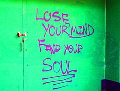 lose and find (Leonard John Matthews) Tags: street green art message catchycolours purple quote contemporary jesus thoughtful australia brisbane mind soul queensland redhill bible christianity therapy spiritual lose inspire find challenge gospel provoke mythoto matthew16v25