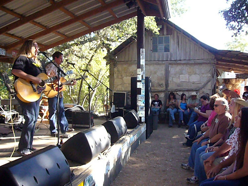 Luckenbach Crowd