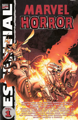 Essential Marvel Horror, v. 1 cover