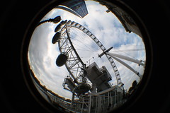 London Eye (Minnesota Steve) Tags: london fisheye