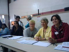 poll workers, redwood city