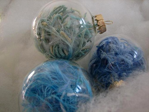 yarn ornaments 3