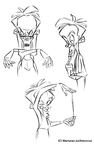 conductor sketches