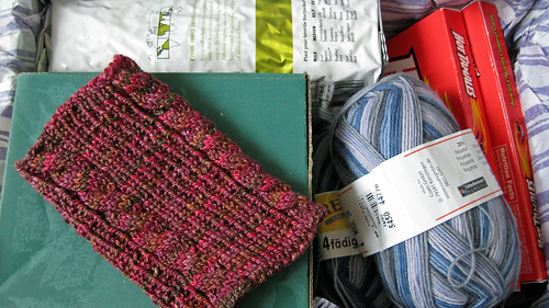 Starbucks and Yarn Swap Inside