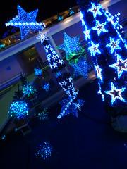 P1000509(Pmode ISO400) (HAMACHI!) Tags: light japan night lumix tokyo illumination panasonic 2008 cameratest loadtest lx3 lalaporttoyosu lumixlx3 dmclx3