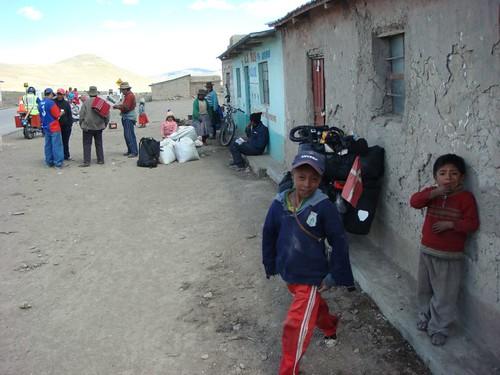 Indigena village at 4.000 m. Peru, November 2008.