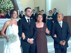 Tiago, Vanessa, Delita e Felix