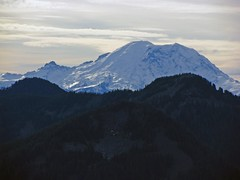 Mt. Rainier from Granite Mtn Trail