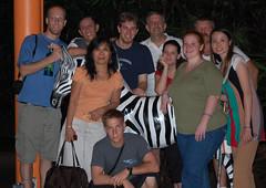 LWWZooPlusFriends.jpg (bobmendo) Tags: singapore zebra 2008 singaporezoo jewsforjesus nightsafari liberatedwailingwall