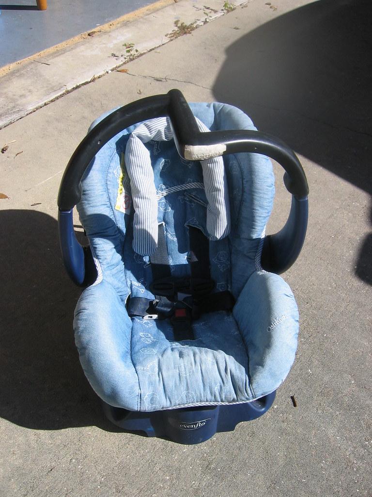 Older Evenflo Baby Car Seat