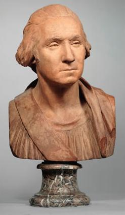 Washington Bust by Houdon