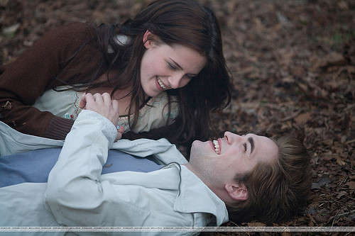 Bella and Edward in their meadow by rstaats21.
