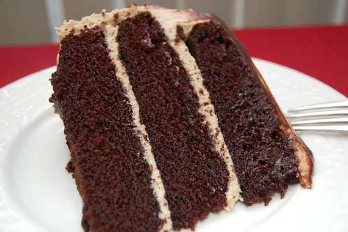 Perfect Slice - Chocolate Peanut Butter Cake