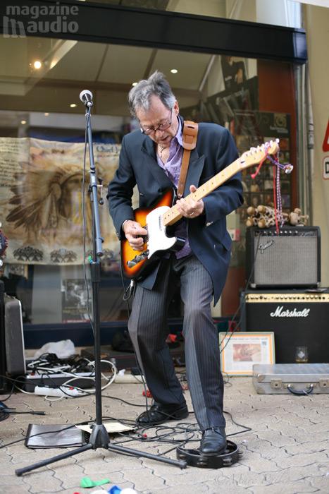 Pierre-Louis, guitar blues, Hyères 2008