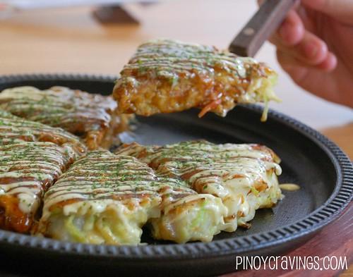 Okonomi-yaki @ Kagura Restaurant