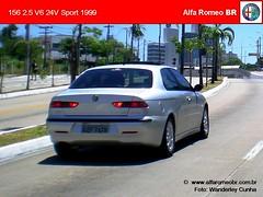 Alfa Romeo 156 nov 08 6 (renato155) Tags: brazil sport br 1999 porto 25 alfa romeo alegre rs v6 156 24v alfaromeobr