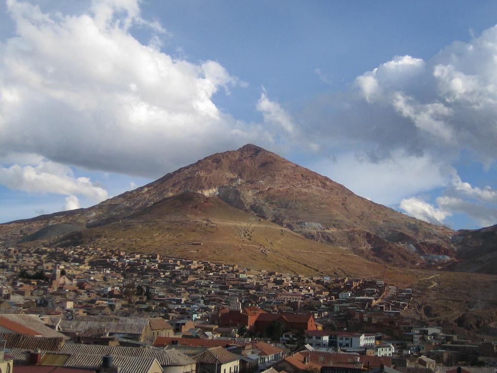 Cerro de Potosi, Bolivia