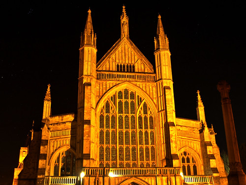 Winchester Cathedral at Night by you.
