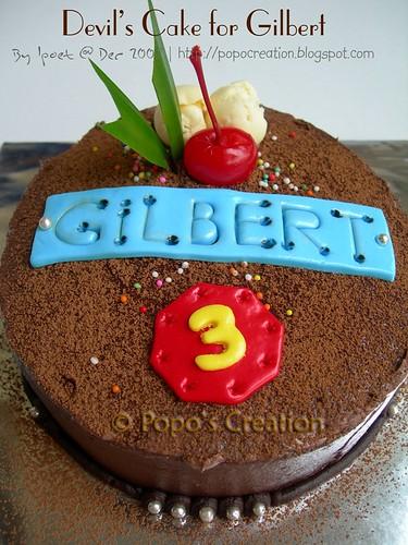 Cake for Gilbert