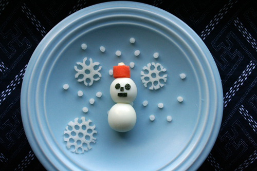 food gifts: how to make a snowflake