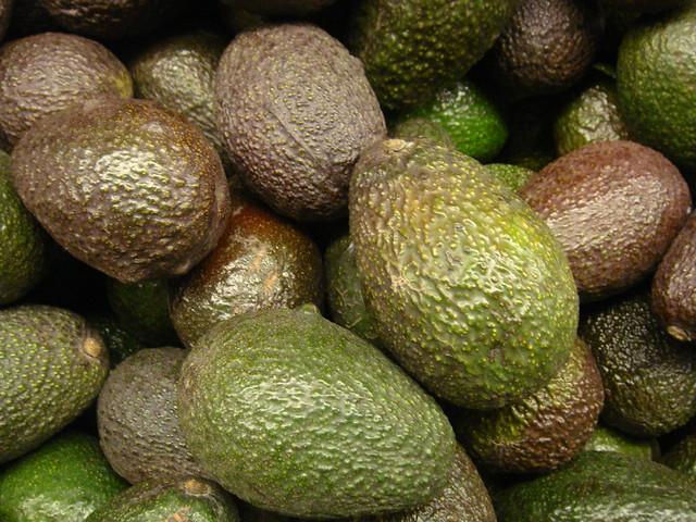 homemade guacamole with avocado