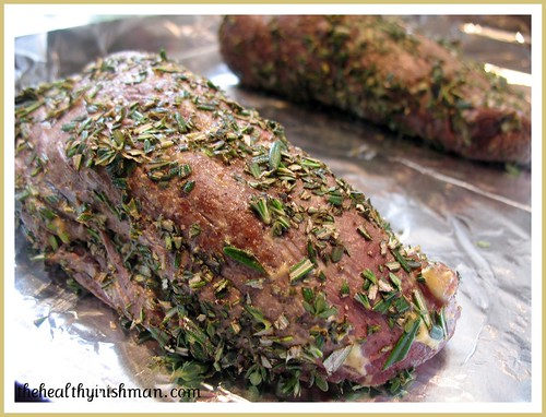 Herb Crusted Beef Filet